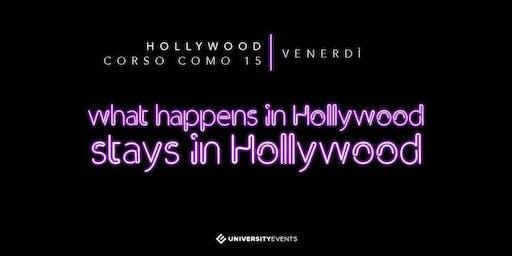 Hollywood Milano Venerdi 22 Novembre 2019 X Info 392-9848838