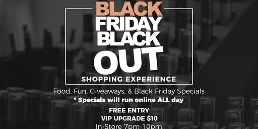 BAABS Black Friday Blackout 2019