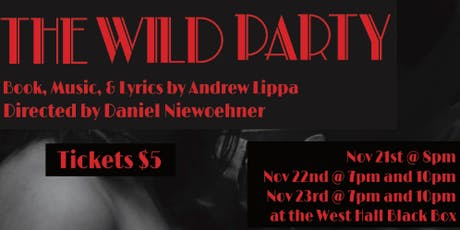 Generic Theatre Company's The Wild Party tickets