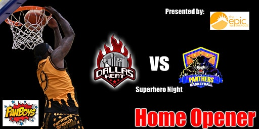 Dallas Heat vs Crowley Panthers (Home Opener)