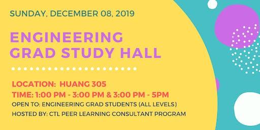 Engineering Grad Study Hall - Sunday December 8