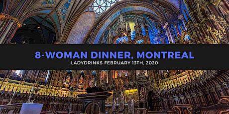 LADYDRINKS INTERNATIONAL WOMEN'S DAY DINNER, MONTREAL tickets