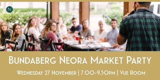 Bundaberg Neora Market Party