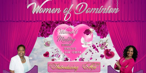 """The Women of Dominion presents """"Introducing Me"""""""