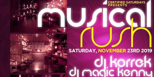 Musical Rush w/ FREE Drinks @ Katra Lounge