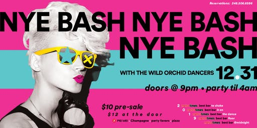 Orchid Ferndale New Years Eve