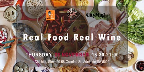 Real Food Real Wine Vol. 4 - Chichilli Chinese Restaurant tickets