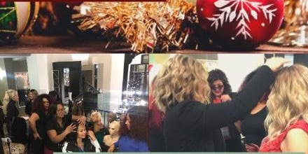 Wigs and Wine Holiday Open House