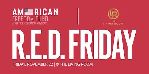 R.E.D. Friday @ Living Room DC