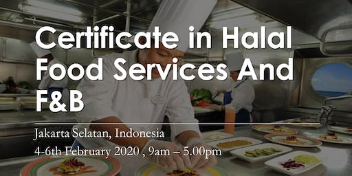 Certificate in Halal Food Services And F&B