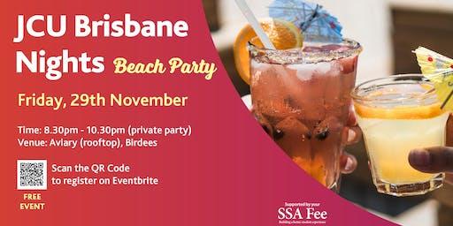 JCU Brisbane Nights - Beach Party