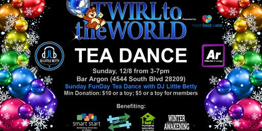 T2W Sunday Funday Tea Dance with DJ Little Betty