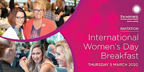 International Women's Day Breakfast 2020 tickets