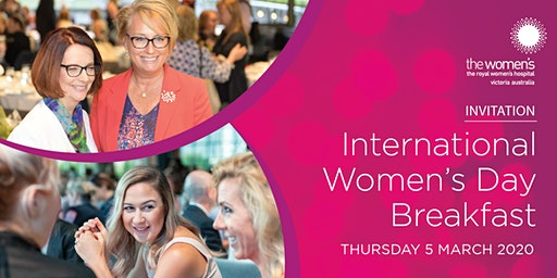 International Women's Day Breakfast 2020
