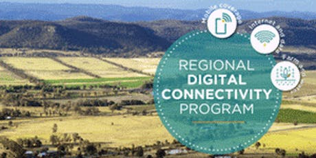 RESCHEDULED - Regional Digital Connectivity Program tickets
