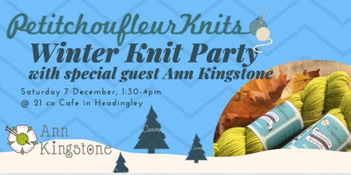 Winter Knit Party with Ann Kingstone