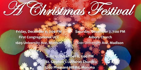 A Christmas Festival – Monona tickets
