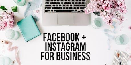 SUNSHINE COAST - Facebook + Instagram for Business tickets