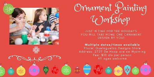 Ornament Painting Workshop
