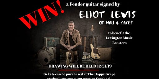 Win an autographed guitar signed by Eliot Lewis!