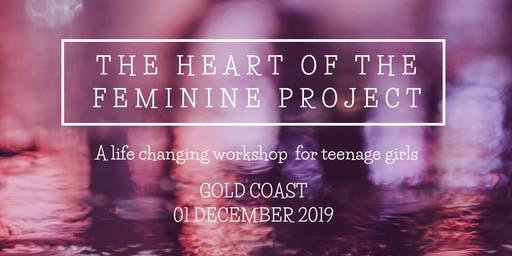 Heart of the Feminine Workshop - GOLD COAST