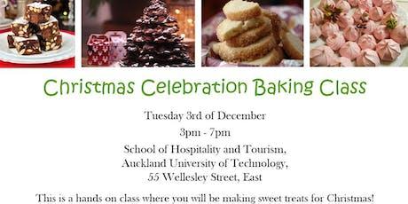 Christmas Celebration Baking Class at AUT tickets