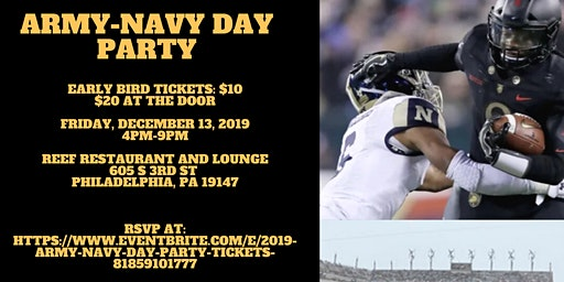 2019 Army Navy Day Party