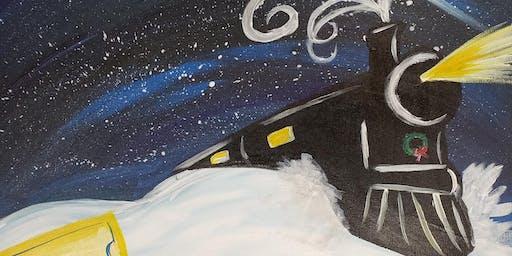 Polar Express Sip & Paint