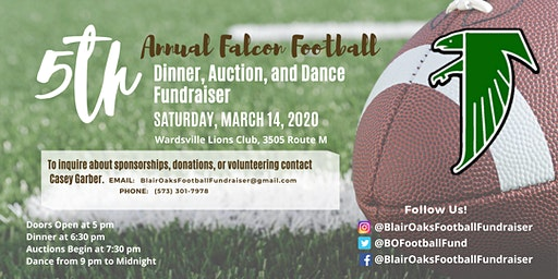 2020 Falcon Football Fundraiser