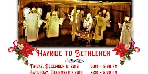 Middlesex Hayride to Bethlehem