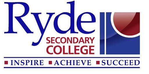Ryde Secondary College - 2019 Presentation Day Invitation