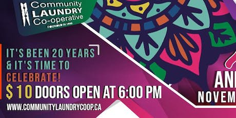 Community Laundry Coop's 20th Anniversary Celebration tickets