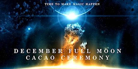 December Full Moon Cacao Ceremony, Sydney tickets