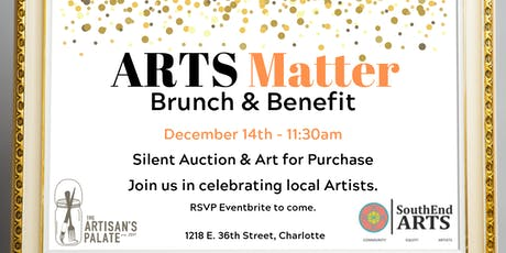 SouthEnd ARTS Matter Brunch and Benefit tickets