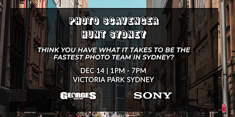 Sydney Photo Scavenger Hunt with Georges & Sony AU tickets