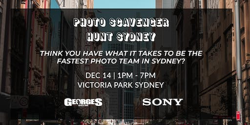 Sydney Photo Scavenger Hunt with Georges & Sony AU