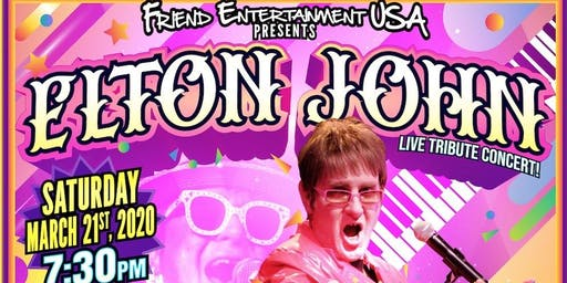 Elton John Tribute Concert Starring Jeff Allen