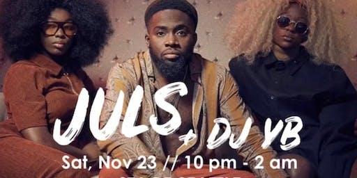 Cal-a-bash w/ JULS & DJ YB