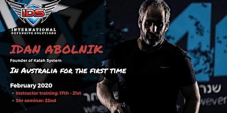 Idan Abolnik tickets