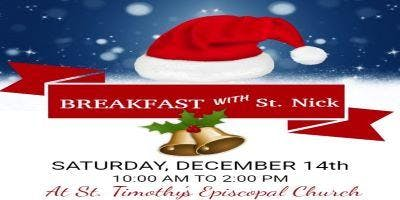 Breakfast with St. Nick at St. Timothy's Episcopal Church