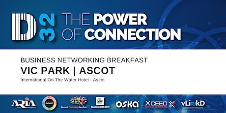District32 Business Networking Perth – Vic Park (Ascot) - Tue 10th Mar tickets