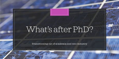 What's after PhD? tickets