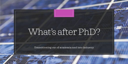 What's after PhD?