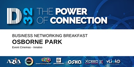 District32 Business Networking Perth– Osborne Park - Mon 09th Mar tickets