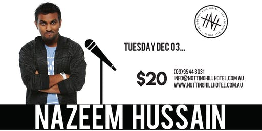 Comedy @ NHH - NAZEEM HUSSAIN - Tuesday December 3rd