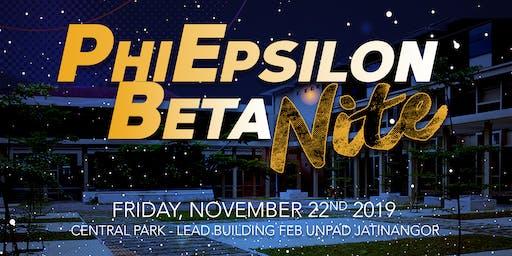 Phi Epsilon Beta (FEB) Nite 3.0