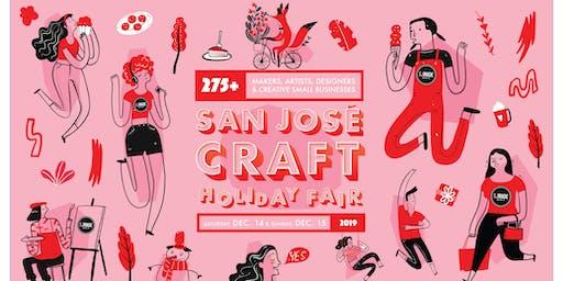 San José Craft Holiday Fair 2019 - Shop over 275 Makers & Artists!