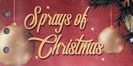 12 Sprays of Christmas tickets