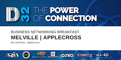 District32 Business Networking Perth– Melville / Mt Pleasant / Applecross Breakfast - Wed 26th Feb