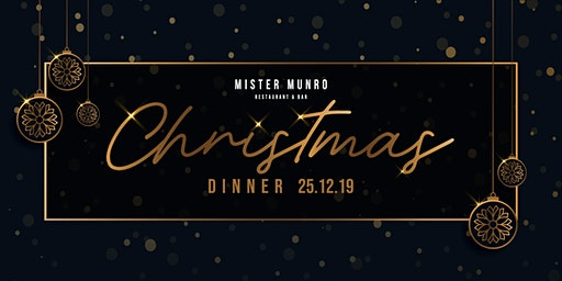 Christmas Dinner at Mister Munro 2019